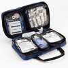Multi Sports First Aid Kit with transparent and labelled inner pouches