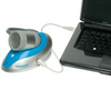 Pneumotrac Spirometer connects to Laptop for out of clinic spirometery