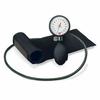 BoSo Clinicus Aneroid Sphygmomanometer with Cuff, Black Colour  Dial Rim and Bulb