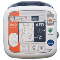 iPAD SP1 Fully Automatic AED - shock delivered automatically without pressing the shock button