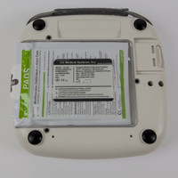 iPAD SP1 Fully Automatic AED - easy defibrillator pads storage at the back of the machine.