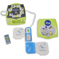 Training Defibrillator Zoll AED Plus Trainer 2 with CPR D Pads for CPR  Training besides defibrillator training and a remote control for the instructor to control the rescue scenario from a distance.