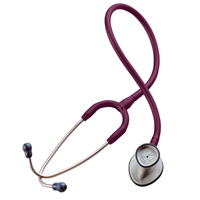 Littmann Stethoscope Lightweight II SE  with Burgundy colour Tubing