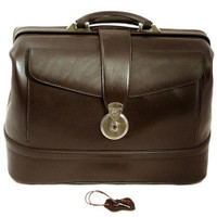 Camelot Doctor's Bag Nappa Leather Brown
