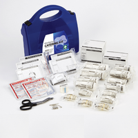 Catering First Aid Kit- Plasters, Dressing, Bandages etc suitable for restaurants, caterers, food packaging and handling units etc.