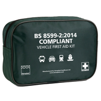 Vehicle First Aid Kit in a Compact Nylon Pouch
