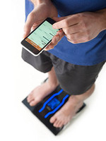 Tanita RD-901-BK Body Composition Monitor with Bluetooth for easy data analysis via the Health Planet App