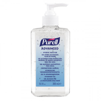 Purell Advanced Hand Sanitiser Rub 300ml Pump Bottle