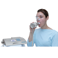 Vitalogrpah Alpha Spirometer In Use