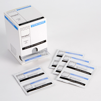 Alcohol Free Wipes individually sealed and supplied in a dispenser pack