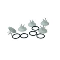 Mushroom Valve and Washer Pack for Propulse III and NG Ear Irrigators x5