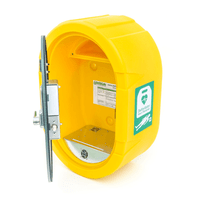 DefibSafe 2, External AED Cabinet with Heat Plate to maintain temperature