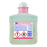 Deb Alcohol Foaming Hand Sanitiser Liquid, 1 Litre Cartridge,  CFS39H