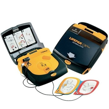 Lifepak CR Plus with Pre-connected Quik-Pak Electrodes