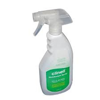 Clinell Universal Disinfectant Spray 500ml for surfaces and equipment