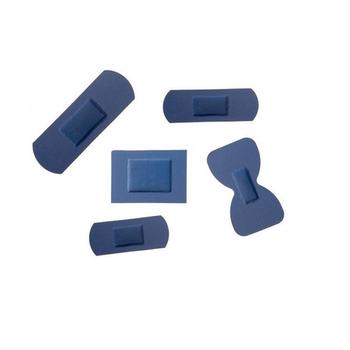 Sterochef Blue Detectable Plasters 100 in a box