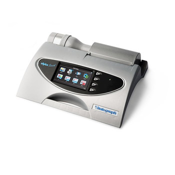 Vitalograph Alpha Touch Spirometer - Coloured Icon driven Menu and Built-in Printer, vitalograph reports software included.