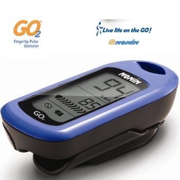 Nonin GO2 Finger Pulse Oximeter - Blue, 9570-B-EN, 9570-0101