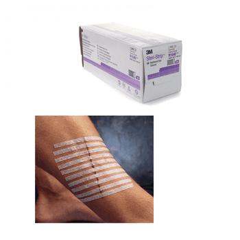 Steri Strip Adhesive Skin Closure Strips, 3 x 75mm