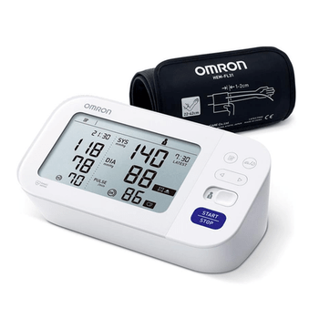 Omron M6 Comfort BP Monitor HEM-7360-E with Intelli Wrap Cuff and  Afib Indicator