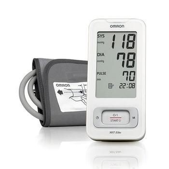Omron MIT Elite Blood Pressure Monitor - White