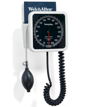 Welch Allyn 767 Aneroid Sphygmomanometer - Wall Mounted