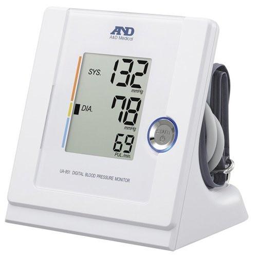 A&D UA-851 Desktop Digital Blood Pressure Monitor with Irregular Heartbeat Indicator