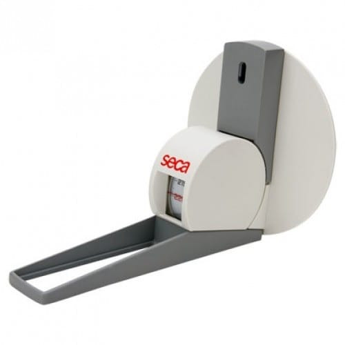 Seca 206 Height Measuring Roller Tape Wall Mounted with Head Positioner