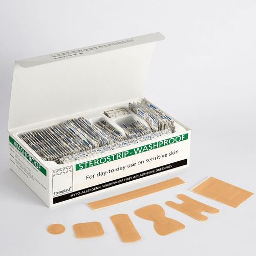 Sterostrip Assorted Washproof Plasters , 100/pk