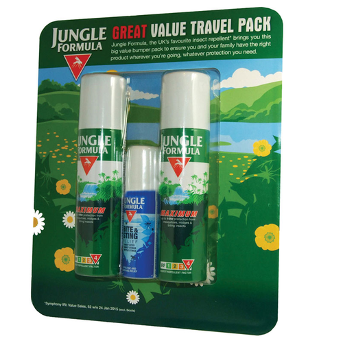 Jungle Formula Travel Pack