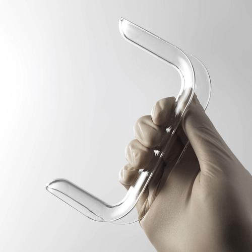 Pelispec Disposable Sims Speculum, Medium (400131), Crystal Clear for maximum visibility