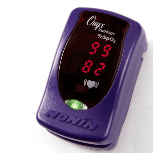 Nonin 9590 Onyx Vantage Finger Pulse Oximeter - Purple