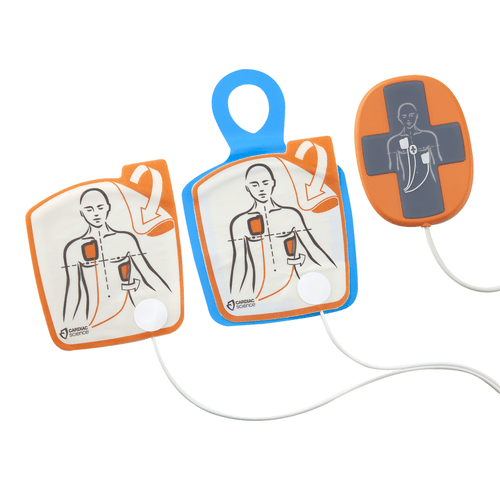 Adult Electrodes with CPR Device for Powerheart G5 AED