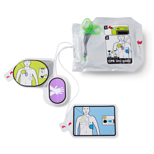 CPR Uni-padz, Universal electrodes for Zoll AED 3