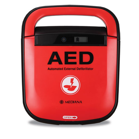 Mediana A15 HeartOn AED with protective cover