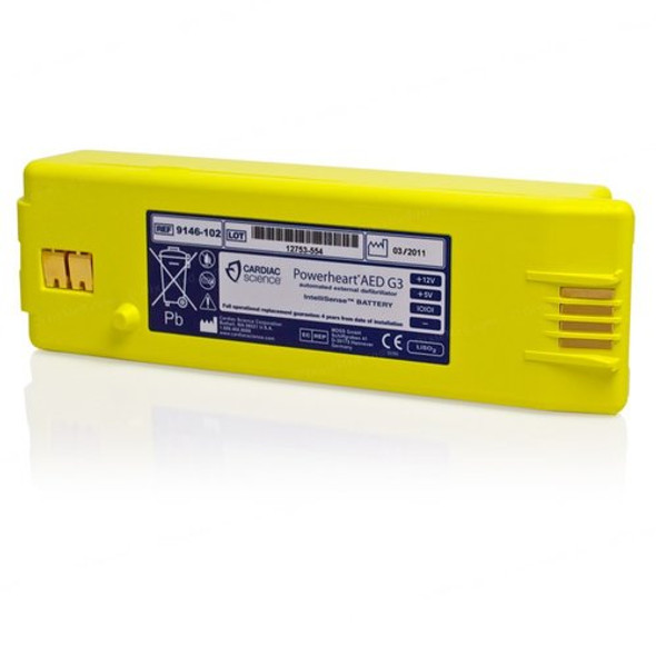 Powerheart G3 Battery 9146-302 Intellisense Lithium