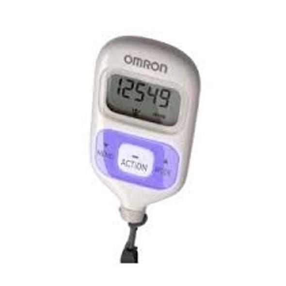 Omron Walking Style III Step Counter / Pedometer - Purple