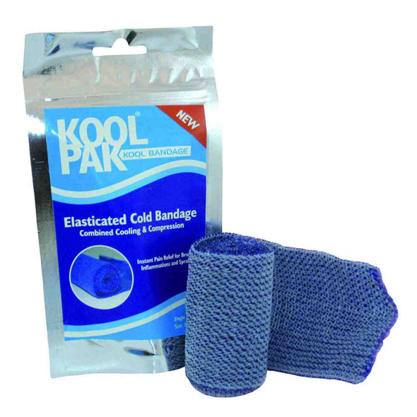 Elasticated Cold Bandage for Compression 7.5cm x 4.5m- cooling and compression combined !