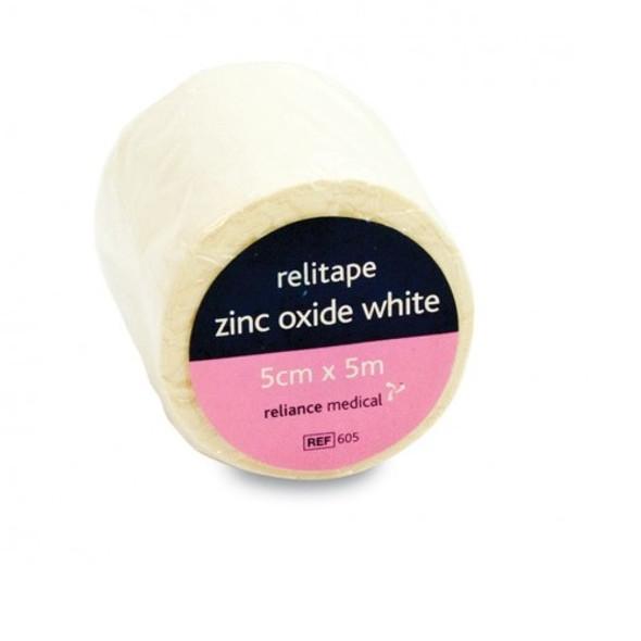 Zinc Oxide Tape 5cm x 5m White roll