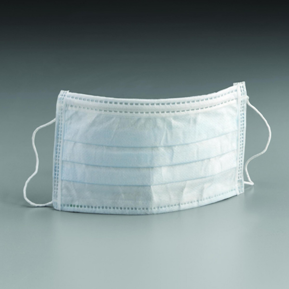 Surgical Face Mask with Ear loops, box of 50 masks.
