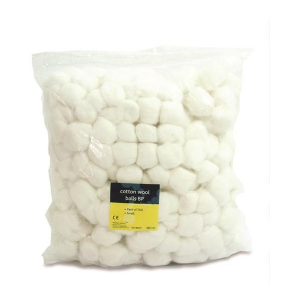 Cotton Wool Balls Small 500/pk