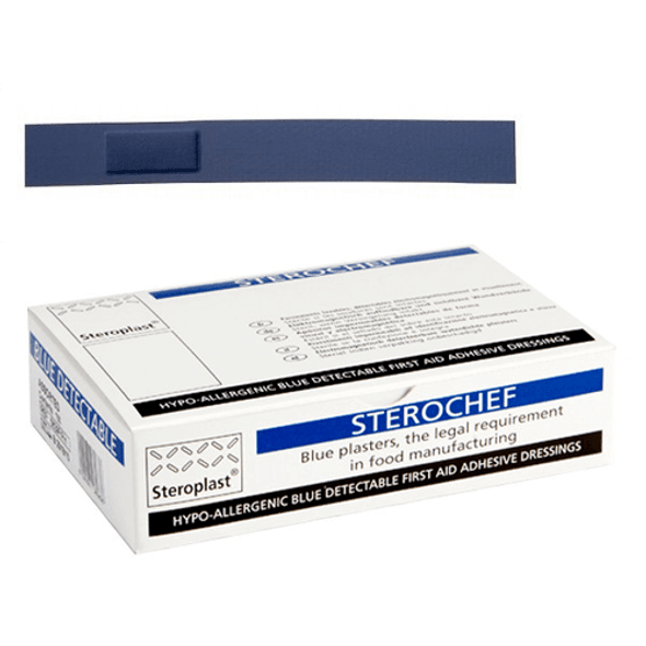 Blue Detectable Plaster Finger Extension 2cm x 15cm