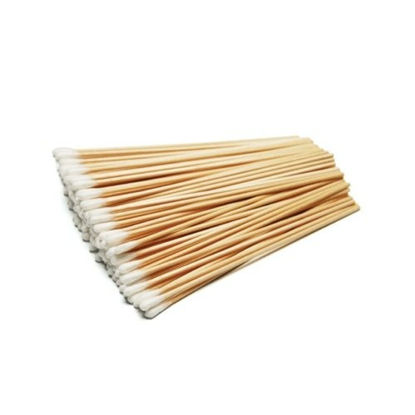 """Cotton Tipped Wooden Applicator 6"""", 100/pack"""