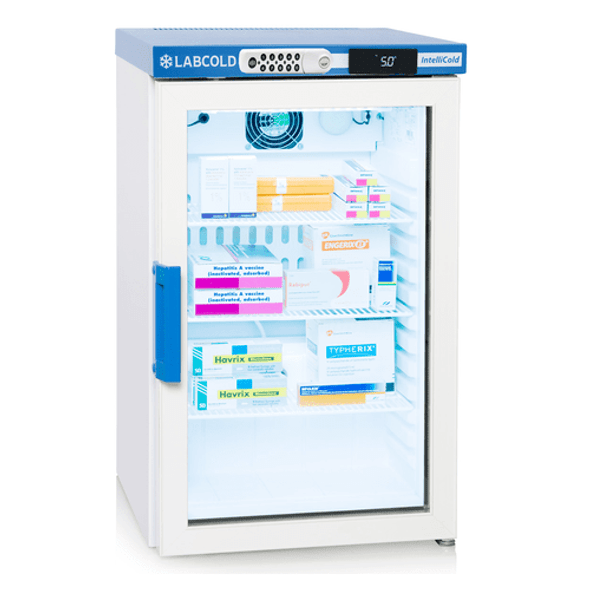 Labcold RLDG0219DIGLOCK, 66 litre Medical Refrigerator with Glass Door and Digital Lock