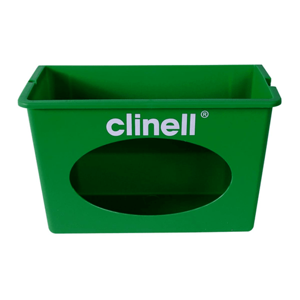 Clinell Wall Mount Green Dispenser for Universal Wipes