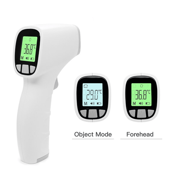 Non Contact Thermometer with Backlit Display