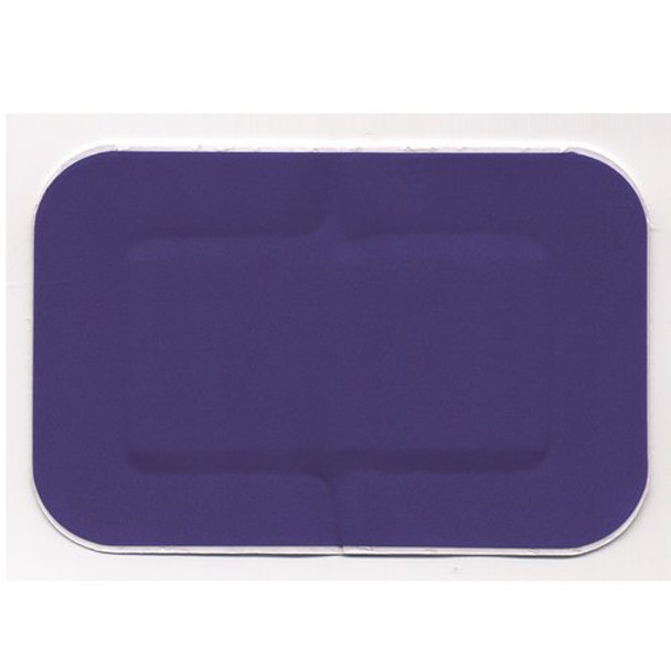 Blue Detectable Plaster 7.5cm x 5cm, box of 50