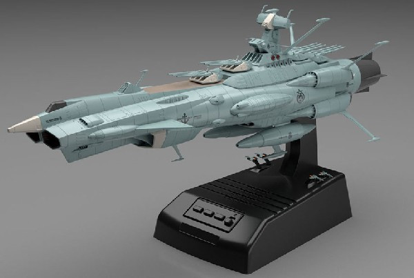 UNCF AAA1 Andromeda Space Battleship Movie Effect Version (w/LED Lights & Sound)