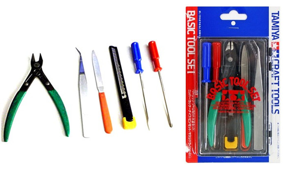 Basic Tool Set - Tamiya Craft Tools
