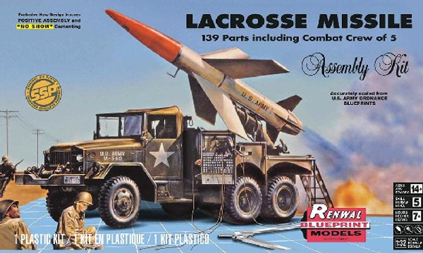 1/32 Lacross Missile w/Truck & 5 Crew (SSP)